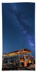 Magic Milky Way Bus Beach Sheet
