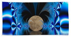 Magic Moon Beach Towel