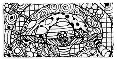 Magic Mushroom Tangle Beach Sheet
