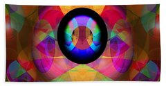 Beach Towel featuring the photograph Magic Orbs by Lynda Lehmann