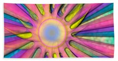 Magic Sun Beach Towel