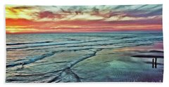 Magic Sunset Color Spectrum Beach Sheet