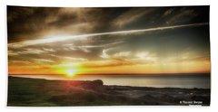 Magic Sunset Beach Towel