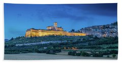 Magical Assisi Beach Sheet by JR Photography