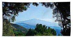 Magical Etna Beach Sheet