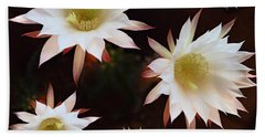 Magical Flower Beach Towel by Gina Dsgn