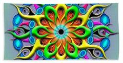 Magical Hypnosis Beach Towel