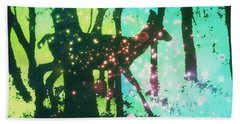 Magical Nature Beach Towel by Sherry Flaker