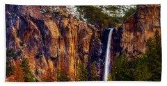 Magnificent Bridaveil Falls Beach Towel