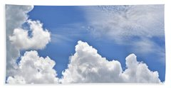 Beach Towel featuring the photograph Magnificent Clouds by Tara Potts