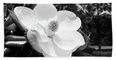Magnolia Bloom- By Linda Woods Beach Towel