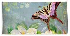Magnolia Dreams  Beach Sheet by Audrey Jeanne Roberts
