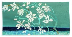 Magnolia Beach Towel by Gallery Messina