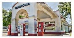 Magnolia Gas - Little Rock Beach Towel