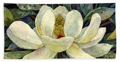 Magnolia Grandiflora Beach Towel
