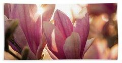 Magnolias At Sunset Beach Towel