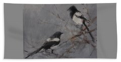 Magpies Beach Towel