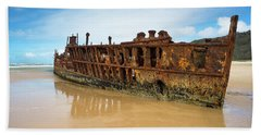 Maheno Shipwreck Beach Sheet