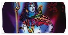 Maheshvara Shiva Beach Towel
