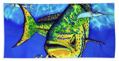 Mahi Mahi And Ballyhoo Beach Towel
