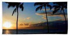 Mai Ka Aina Mai Ke Kai Kaanapali Maui Hawaii Beach Towel