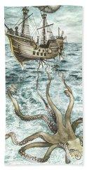 Maiden Voyage Beach Sheet by Arleana Holtzmann