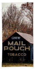 Mail Pouch Barn Beach Sheet