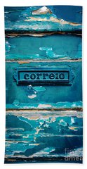 Mailbox Blue Beach Towel