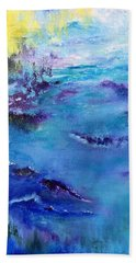 Maine Coast, First Impression Beach Towel