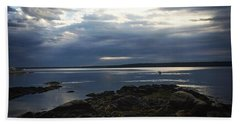 Maine Drama Beach Towel by LeeAnn Kendall