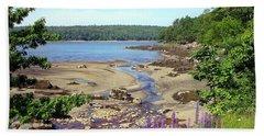 Maine Lupines Beach Sheet