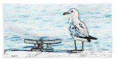 Maine Seagull Beach Sheet