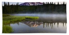 Majestic Dawn Beach Towel by Mike  Dawson