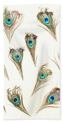 Majestic Feathers Beach Towel