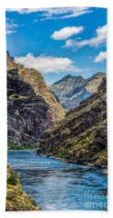 Majestic Hells Canyon Idaho Landscape By Kaylyn Franks Beach Towel