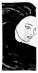 Majestic Lady J0715a Beach Towel
