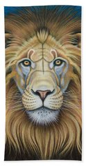 The Lion's Mane Attraction Beach Towel