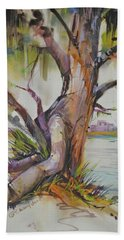 Majestic Live Oak  Beach Towel