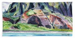 Majestic Na Pali Coast Beach Towel