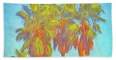 Majestic Palms Beach Sheet by Gerhardt Isringhaus