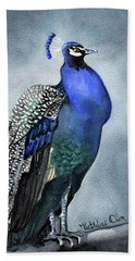 Majestic Peacock Beach Towel