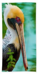 Majestic Pelican 48 Beach Towel