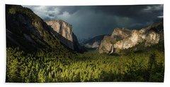 Majestic Yosemite National Park Beach Towel