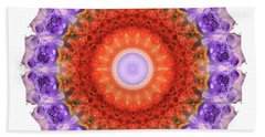 Majesty Mandala Art By Sharon Cummings Beach Towel