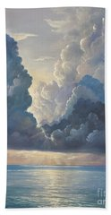 Beach Towel featuring the painting Majesty by Rosario Piazza