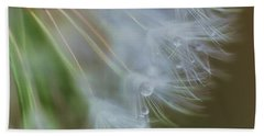 Beach Towel featuring the photograph Make A Wish by Beth Sawickie