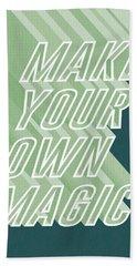 Make Your Own Magic Beach Towel