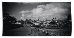 Beach Sheet featuring the photograph Mala Wharf Ala Moana Street Lahaina Maui Hawaii by Sharon Mau