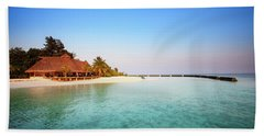 Maldives Morning Beach Towel