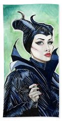 Maleficent Beach Sheet